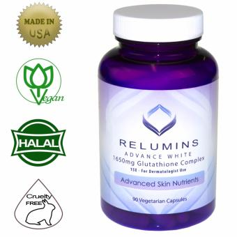 Authentic Relumins Advance White 1650mg 15x Glutathione WhiteningComplex, 90 Vegetarian Capsules Price Philippines