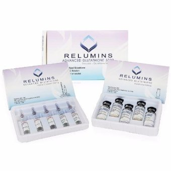 AUTHENTIC Relumins Advanced Glutathione Skin Whitening Anti-aging3500mg IV Glutathione & Vitamin C with Free Materials forinjection Price Philippines