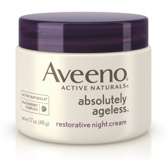 Aveeno Active Naturals Absolutely Ageless Restorative Night Cream1.7oz.