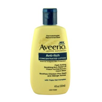 Aveeno Anti-Itch Concentrated Lotion 118ml