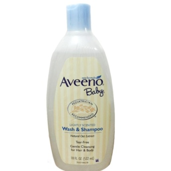 Aveeno Baby Wash & Shampoo 532ml New Formula