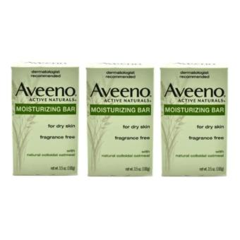 Aveeno Moisturizing Bar for Dry Skin (Set of 3)