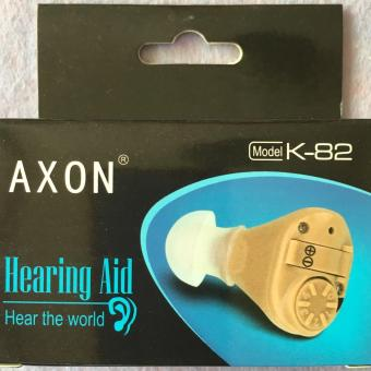 AXON K-82 Best Invisible Mini Sound Amplifier Hearing AidAdjustable Tone In Ear Price Philippines
