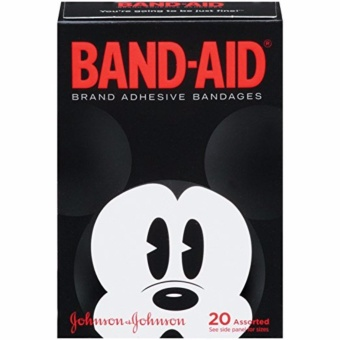 Band-Aid Brand Adhesive Bandages Featuring Disney Mickey Mouse,Collector's Series, Assorted Sizes, 20 Count Price Philippines