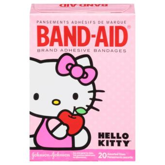Band-Aid Brand Adhesive Bandages Featuring Hello Kitty, AssortedSizes, 20 Count - 2