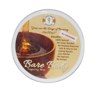 Bare Body Essentials Sugaring Wax Hair Removal (Honey) 200g with FREE Pilaten Black Head Remover Pore Strip