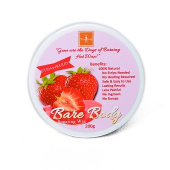 Bare Body Ph Sugar Paste Hair Removal 200g (Strawberry)