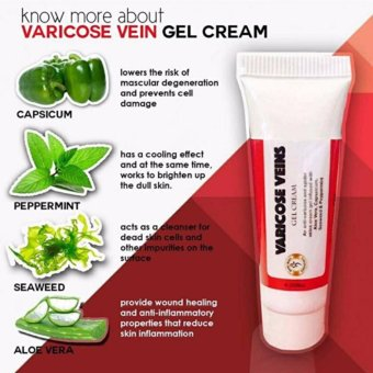 Bare Body Varicose Vein Cream Gel 10ml