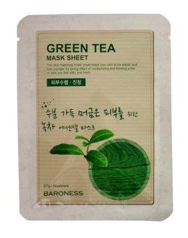 Baroness Green Tea Mask 21g (Set of 10) - 2