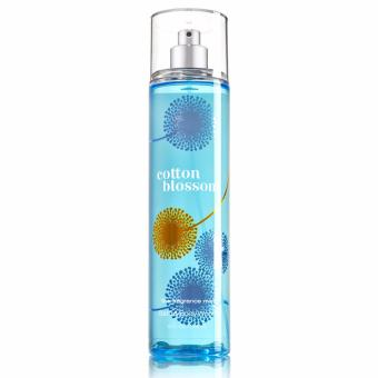 Bath and Body Works Cotton Blossom Fine Fragrance Mist 8 fl oz/ 236ml
