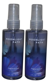 Bath and Body Works Moonlight Path Fine Fragrance Mist 88 ml Set of 2