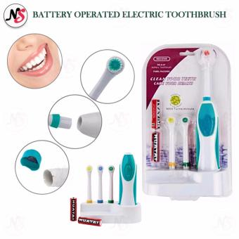 Battery Operated Electric Toothbrush RS-G07 (Green)