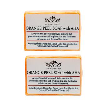 Beaublends AHA Orange Peel Soap 135g Set of 2