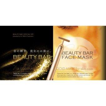 Beauty Bar 24K Golden Pulse Facial Massager - 3