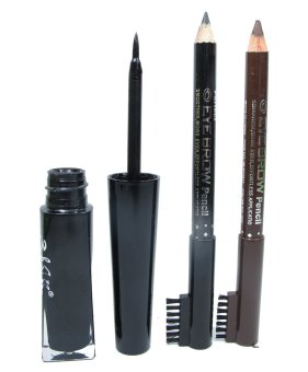 Beauty Charming Liquid Eyeliner with Free 2 Eyebrow Pencil