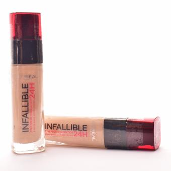 Beauty Plus Infallible 24HR Stay Fresh Liquid Foundation (#145 Beige Rose) Bottle of 2
