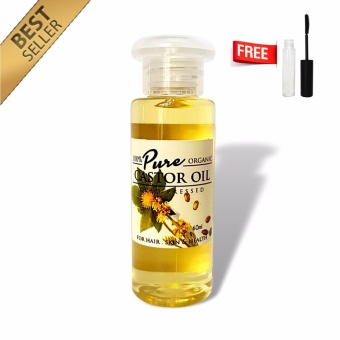Beauty Secret Castor Oil 60ml with FREE 10ml Mascara Tube