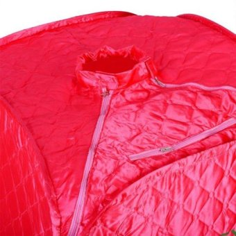 Beauty Spa Portable Steam Sauna (Red) with FREE Igia Slimming VibroShave Belt - 3