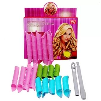 BeautyInhouse Magic Leverag 18 Piece Hair Curler Set with free LazyStant