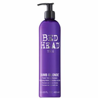 Bed Head by TIGI Dumb Blonde Purple Toning Shampoo: With Purple Toning Pigment