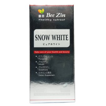 Bee Zin Snow White Whitening Tablets with Pycogenol GlutathioneArbutin 60 tablets Price Philippines