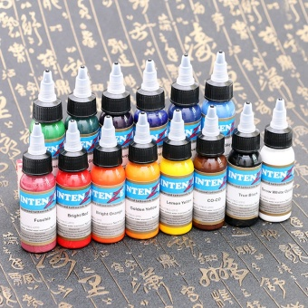 Besta Tattoo Inks 7 Colors 30ml/bottle Tatto Pigment Inks Set for Body Tattoo Art Kit - intl - 2