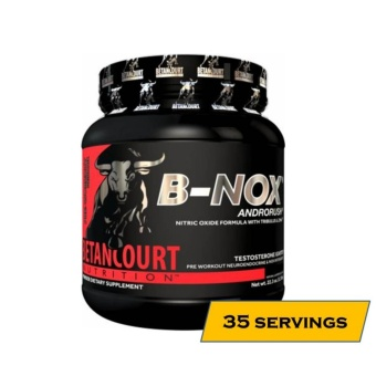 Betancourt Nutrition B-NOX Androrush Anabolic Pre-Workout - 35 Servings - Fruit Punch Price Philippines