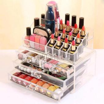 Better One Acrylic Cosmetic Organizer 4 Drawers Drawer MakeupStorage-Intl - 4