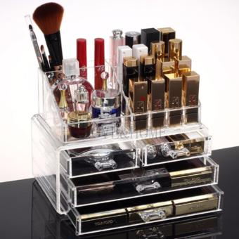 Better One Acrylic Cosmetic Organizer 4 Drawers Drawer MakeupStorage-Intl