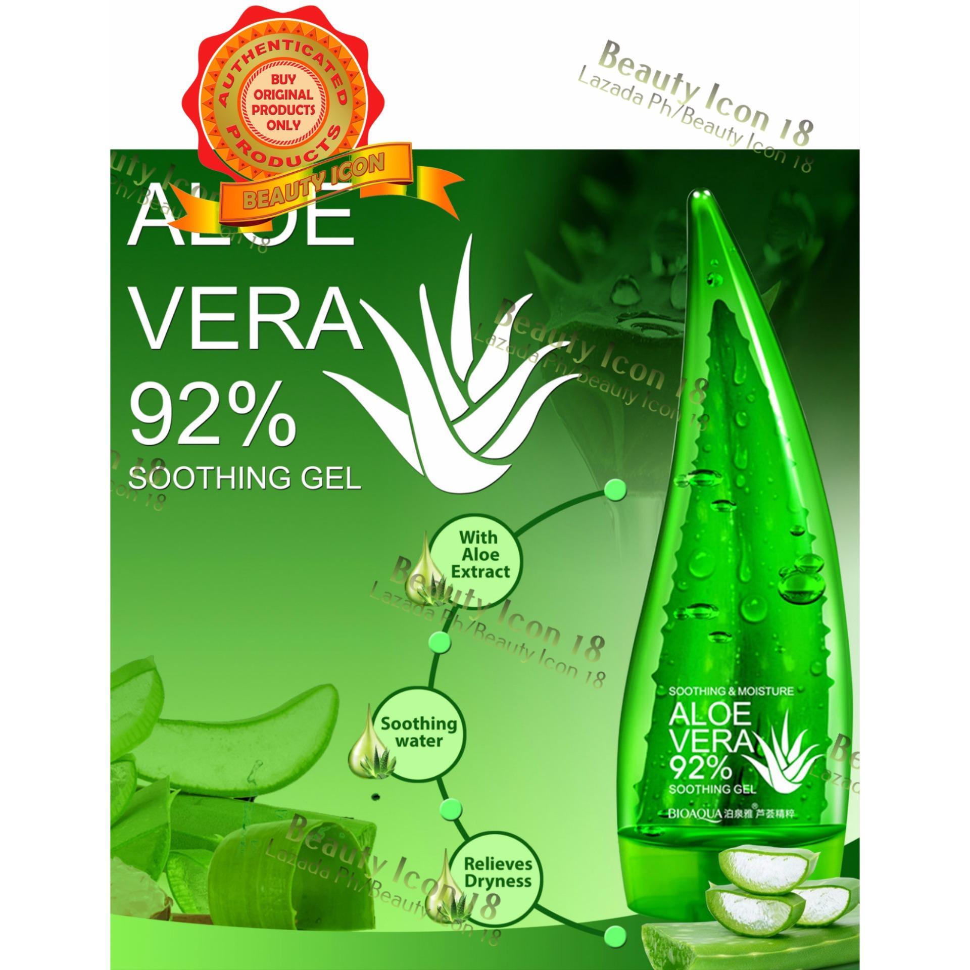 Philippines Bioaqua Aloe Vera Moisturizing Repair Gel 160ml New Price Aloevera