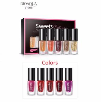 Bioaqua BQY7824-5 Color Water Can Be Stripped Nail Polish (Suit05)