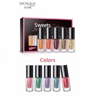 Bioaqua BQY7824-6 Color Water Can Be Stripped Nail Polish (Suit06)