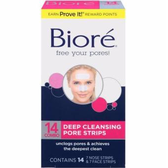 Biore Daily Deep Cleansing Pore Strips Combo 14 Combo Price Philippines
