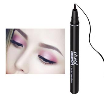 Black Long-lasting Waterproof Liquid Breush Eye Liner Make Up PenPencil Makeup Eye Liner Beauty Cosmetic - intl Price Philippines