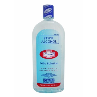Blue Ethyl Alcohol Cleene 70% Solution Antiseptic Disenfectant500mL 126943 w51 (MP)