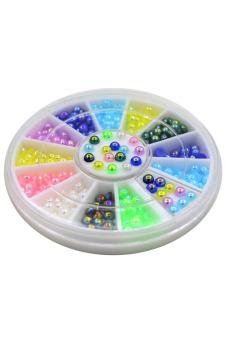 Blue lans Nail Art Decoration Wheel - picture 2