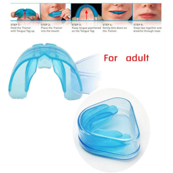 Blue Teeth Orthodontic Trainer Alignment Dental Appliance Braces For Adult - 2