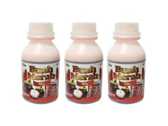 Buah Merah Mix 100% Organic Herbal Powdered Juice Drink Set of 3