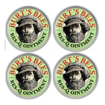 Burt's Bees Res-Q Ointment 15g (4pcs) - intl Price Philippines