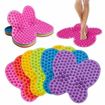 BUTTERFLY FUTZUKI REFLEXOLOGY FOOT RELIEF MAT(BLUE/GREEN/PINK/VIOLET)