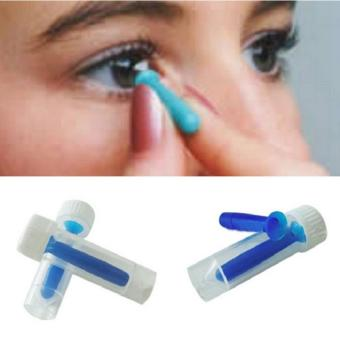 BUYINCOINS Portable Contact Lens Inserter For Hard /RGP and SoftRemover Halloween Blue - intl