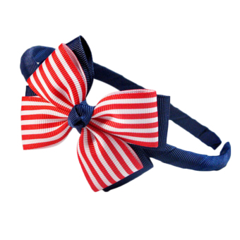 Buytra Cute Girl Hair Clasp Hair Accessories Red White Dot