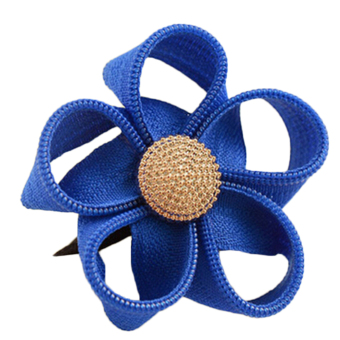 Buytra Flower Ribbon Headband (Blue) - picture 2