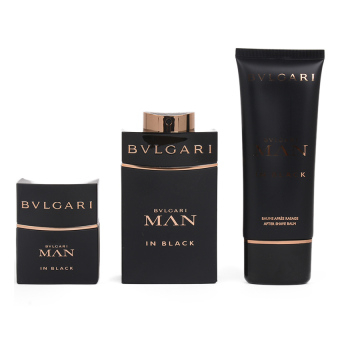 Bvlgari Man in Black Eau De Toilette Set