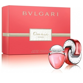 Bvlgari Omnia Coral Eau De Toilette for Women Gift Set