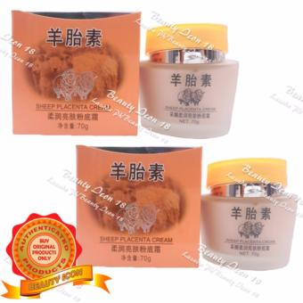 Caimei Sheep Placenta Whitening Foundation Cream 70g Set of 2 Price Philippines