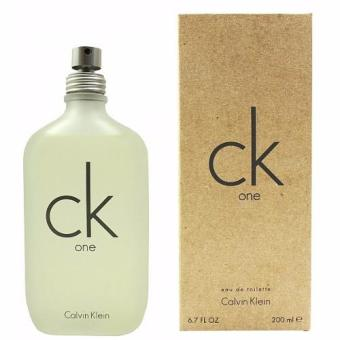 Calvin Klein CK One Eau de Toilette for Men and Women 200ml(Tester)