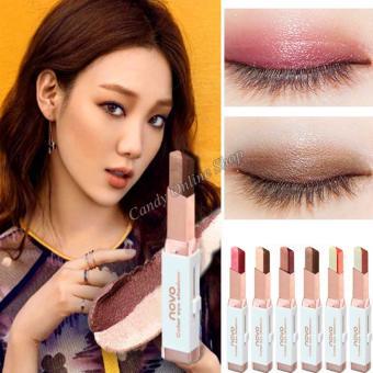 Candy Online Korea NOVO Double Color Gradient Velvet Eye Shadow Make Up Eye Liner Pen #1 - 5
