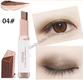 Candy Online Korea NOVO Double Color Gradient Velvet Eye Shadow Make Up Eye Liner Pen #4