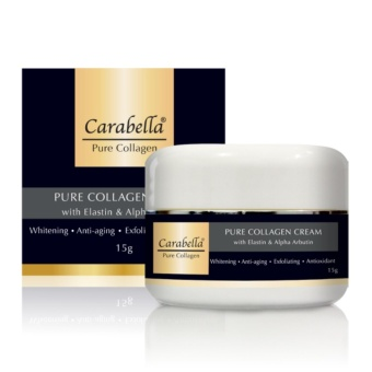 Carabella Pure Collagen Cream with Elastin & Alpha Arbutin 15g